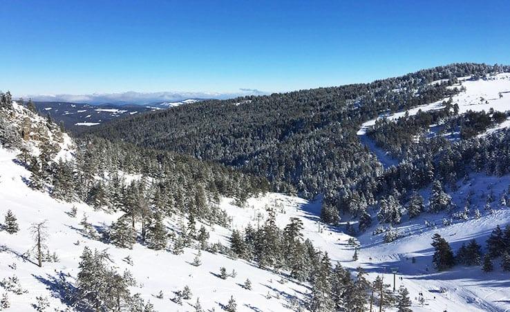 Winter Holiday Destinations of Turkey: Bolu and Kartalkaya