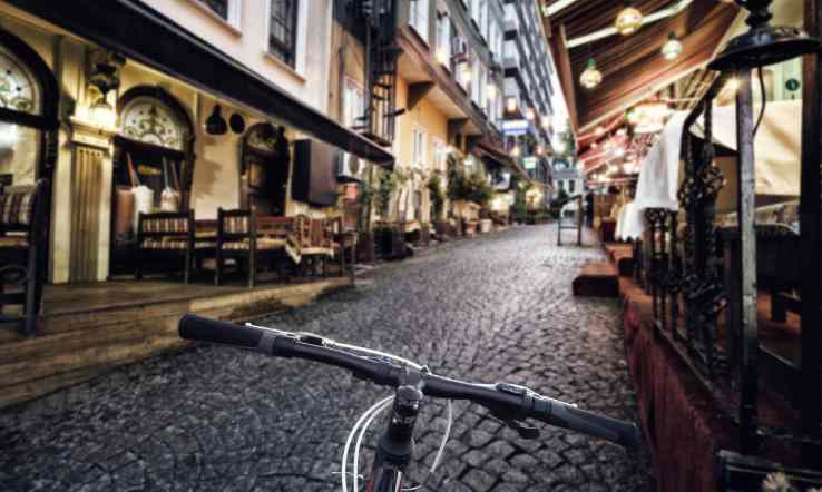 Bicycle Riding in İstanbul