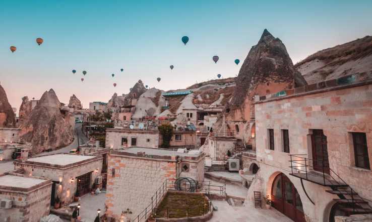 Impressive Cappadocia Hotels in Turkey