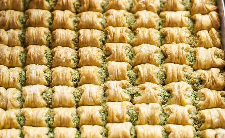 The Top 9 Baklava Importers of Turkey